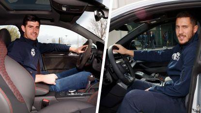 Nieuwe wagens voor revaliderende Hazard en Courtois, die voor 'goedkopere' Audi kiest