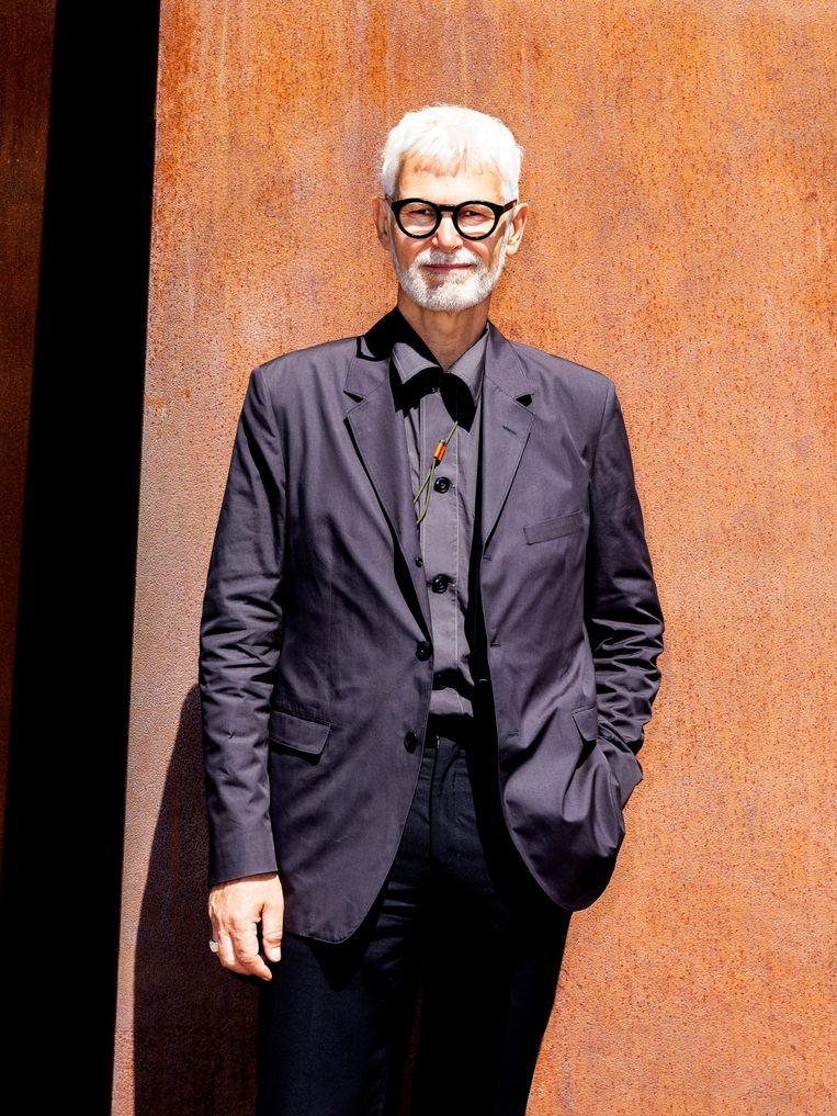 Rein Wolfs (59) is sinds 1 december 2019 directeur van het Stedelijk Museum Amsterdam. Beeld Marie Wanders