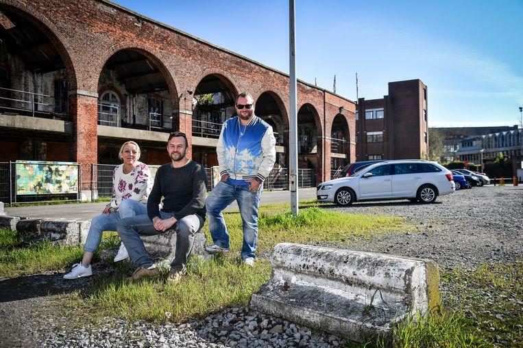 Erika De Decker, Hans Van der Poten en Joachim Heuvinck willen het potentieel van de site Hollandse Kazerne in de kijker zetten en bouwen er een eigen stadsfestival uit.
