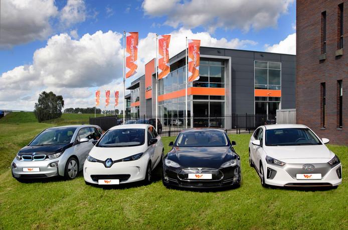 Elektrische leasewagens van LeasePlan