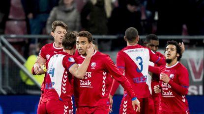 Cyriel Dessers redt een punt voor Utrecht
