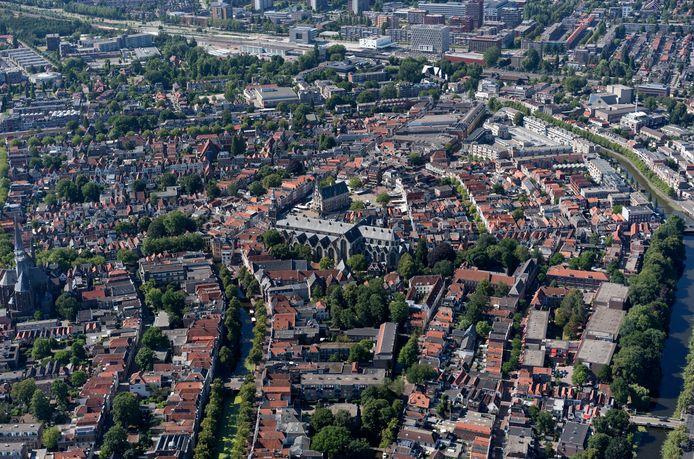 Alle straten in Gouda gaan op de foto voor het project 'Kijk op straat', dat te maken heeft met het 750-jarig bestaan van Gouda als stad.