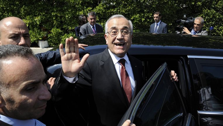 Oud-president Michel Suleiman. Beeld epa