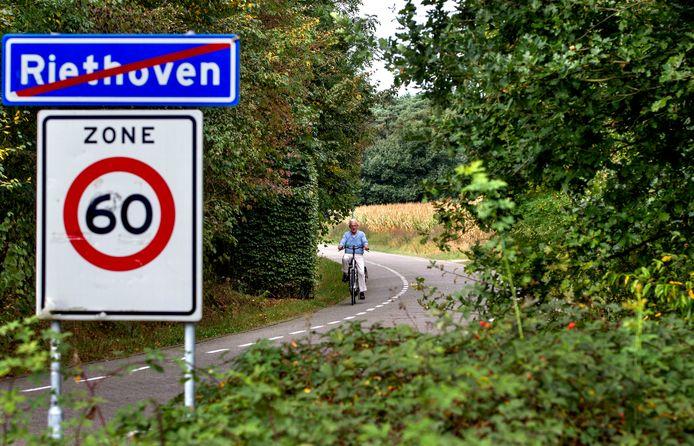 Tussen Westerhoven en Riethoven komt een nieuw fietspad.