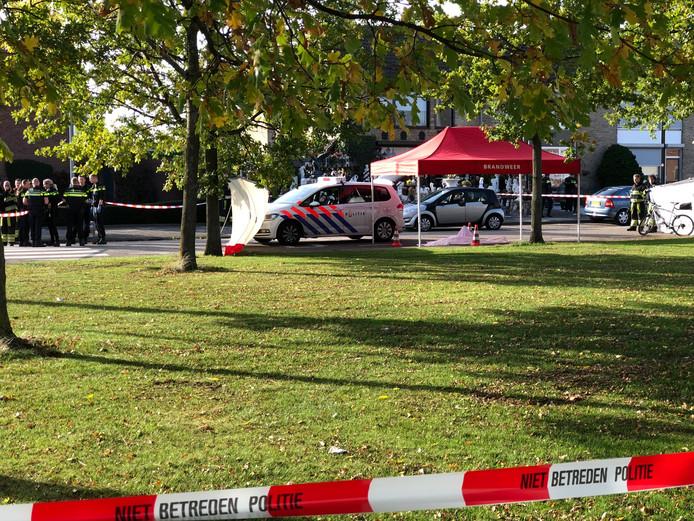 In de Nieuwborgstraat in Blerick is vandaag een man doodgeschoten.