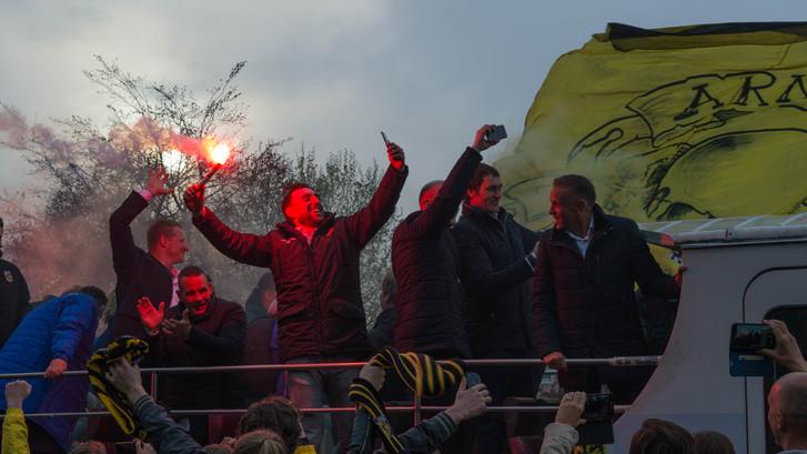 Teruglezen: Arnhem viert feest met Vitesse