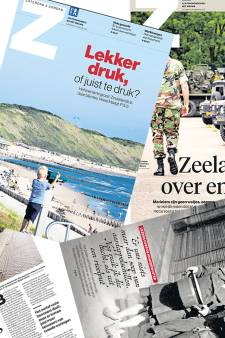 Weekendbijlage Z bij PZC: 'Elke zaterdag de diepte in'