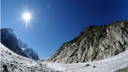 Zwitserse gletsjers verliezen 3% volume op jaar tijd