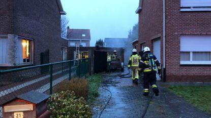 Garage uitgebrand na ontploffing gasfles