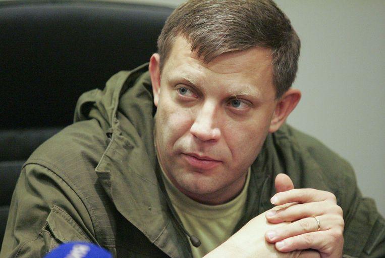 Aleksandr Zachartsjenko Beeld EPA