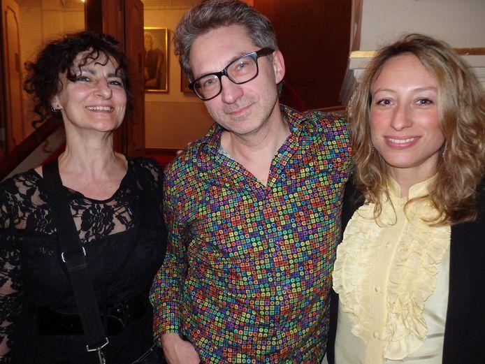 Frénk van der Linden (midden).