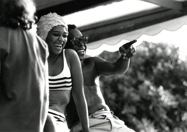 Miles Davis en zijn eerste echtgenote Frances Taylor, jaren zestig.  Beeld Piece of Magic