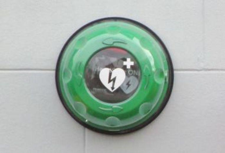 Het AED-toestel aan de sporthal van Kortenberg is verdwenen.