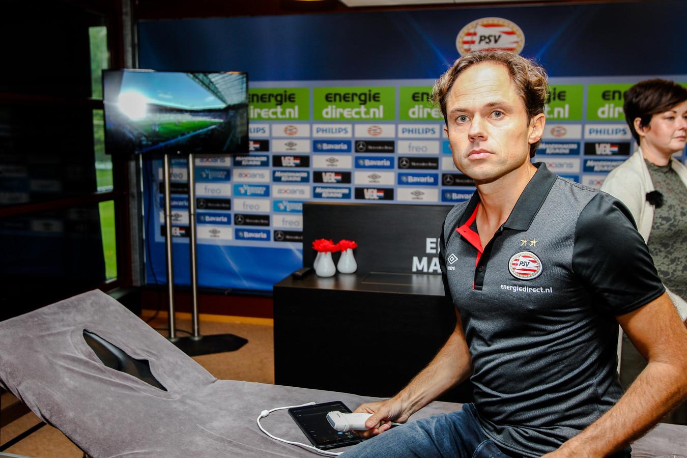 PSV-clubarts Wart van Zoest, tevens medisch manager en orthopedisch chirurg bij TopSupport in Eindhoven en Geldrop.