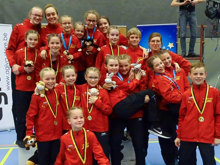 Siluskip Zele behaalde mooie resultaten op het Provinciaal kampioenschap rope-skipping voor mini's (-11 jarigen)