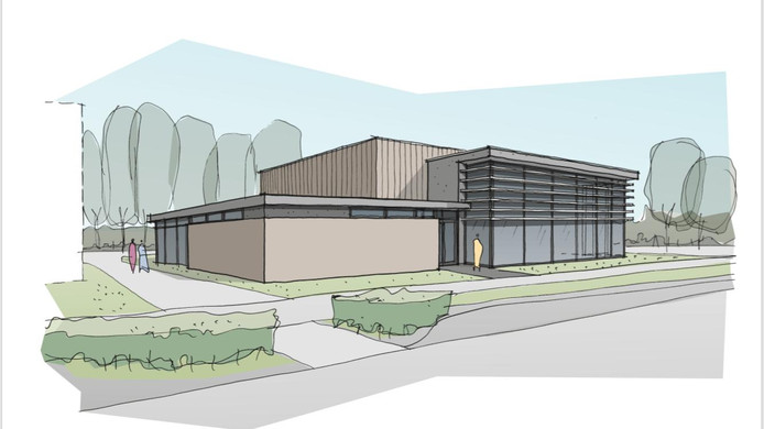 Artist's impression Anytime Fitness