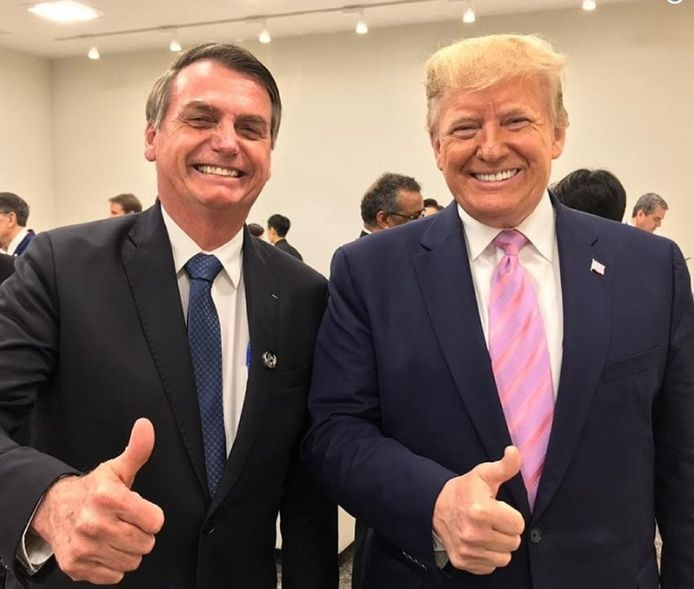 Trump et Bolsonaro