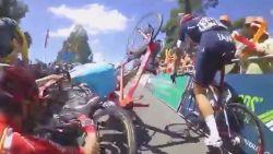 Tenenkrullende valpartijen in het wielrennen