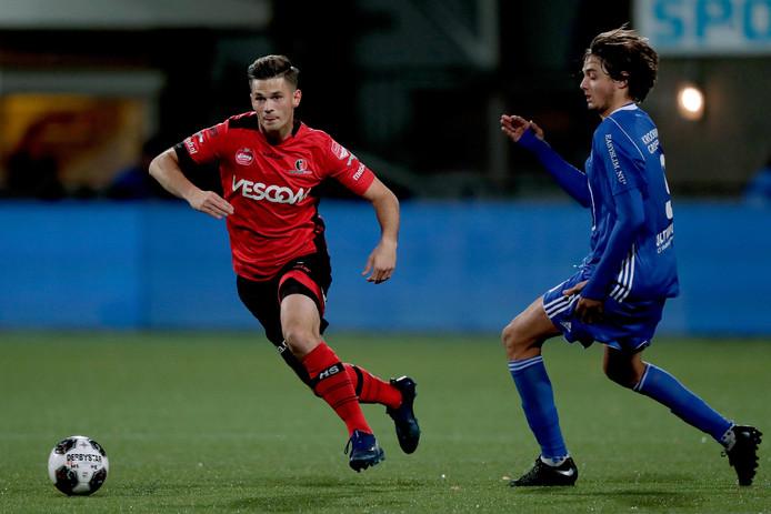 Bart Meijers tijdens Helmond Sport - Almere City.
