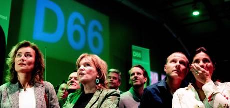 Lichte opluchting bij D66, vooralsnog beperkt verlies