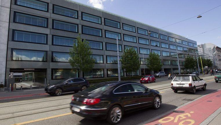 Het hoofdkwartier van de particuliere Pictet-bank in Genève. Beeld epa