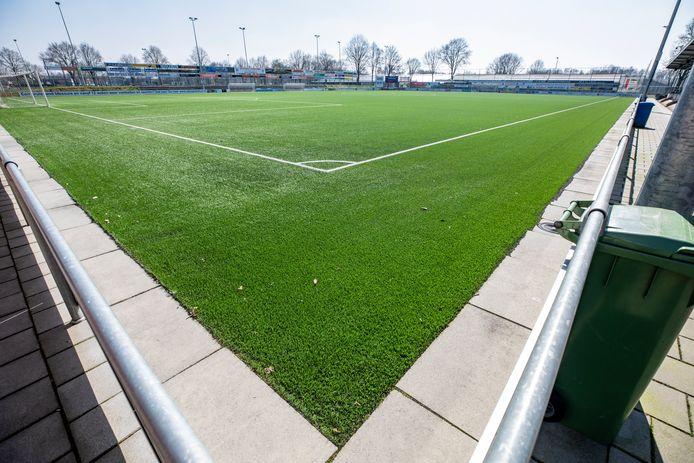 Het veld van SDC Putten blijft zaterdag leeg, de oefenwedstrijd tegen VVOG is geschrapt.