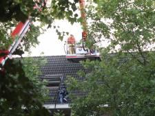 Verwarde man in Deurne veilig van het dak gehaald