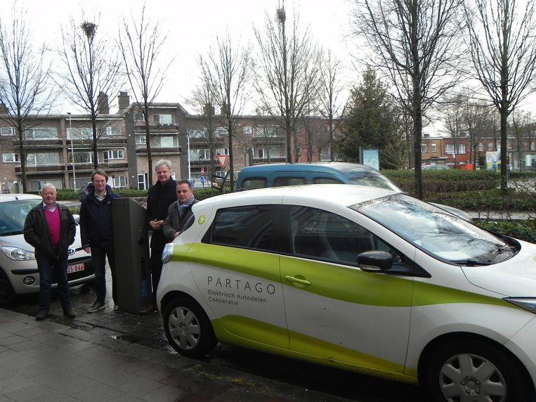CD&V wil de elektrische deelwagens in Kaart en Driehoek.