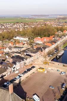 Werkzaamheden bij het Havenplein in Genemuiden voor Koningsdag klaar