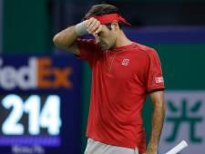 Zverev is gefrustreerde Federer de baas in Sjanghai