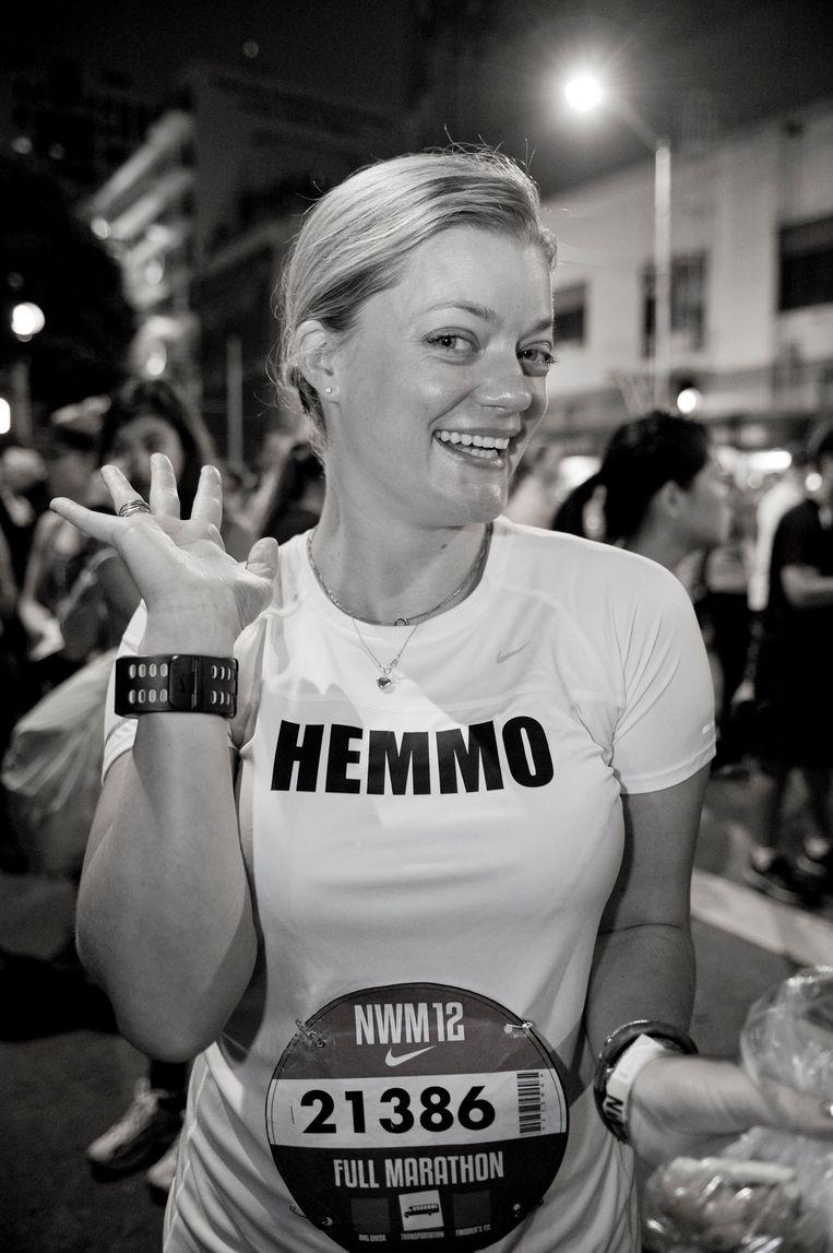 Alexandra Heminsley. Beeld Pamela Palma