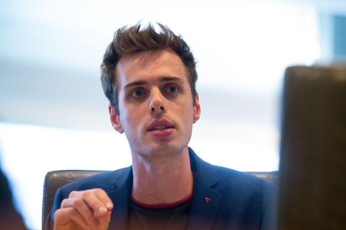 PVDA-fractieleider in het Vlaams parlement Jos D'Haese.