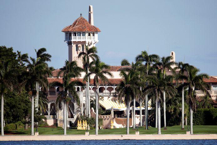 Mar-a-Lago, de club van Trump in Florida waar zijn gunsten gekocht kunnen worden.