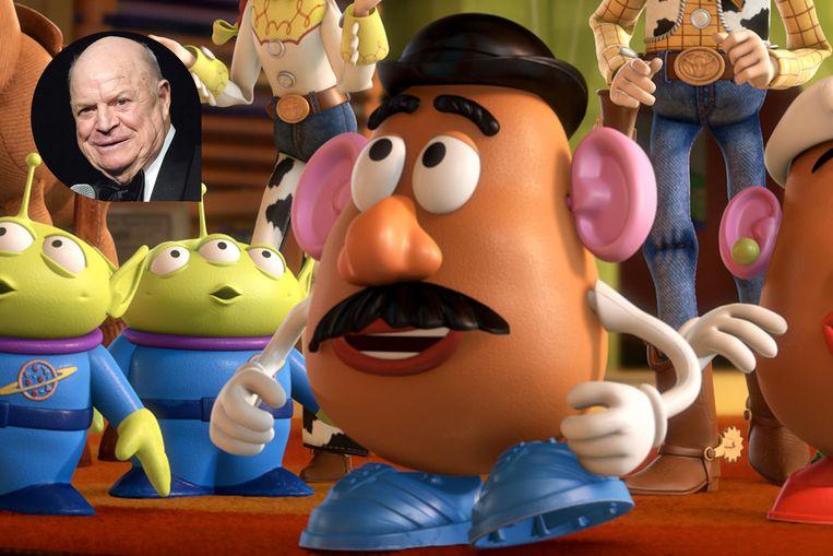 Hubert Damen speelt de rol van Mr. Potato Head