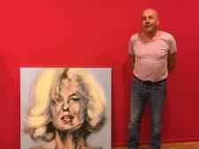 'Marilyn Monroe' stond tegen de voordeur van Jan van Besouw