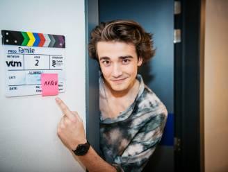 Aaron Blommaert (17) maakt z'n debuut in 'Familie'