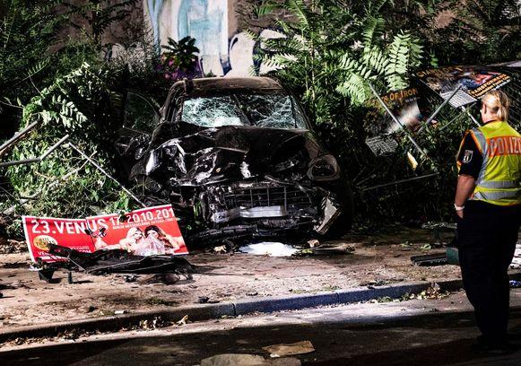 Bij een ongeval in Berlijn met een SUV kwamen afgelopen vrijdag vier mensen om het leven.