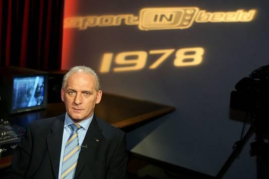 Dick Nanninga in 2003 in het programma Sport in Beeld.