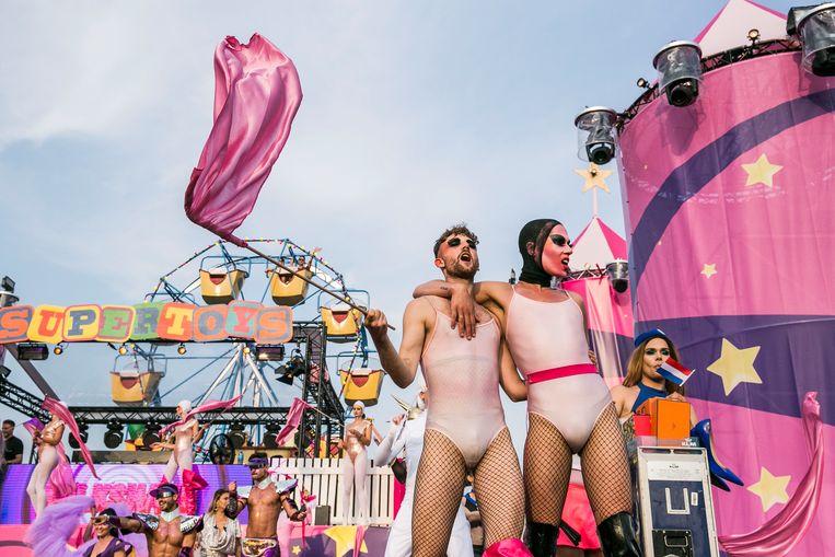 Milkshake is een van de festivals die jaarlijks in Westerpark worden gehouden. Beeld Amaury Miller