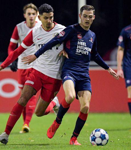 Helmond Sport komt beroerde start te boven, maar verliest alsnog onnodig bij Jong FC Utrecht
