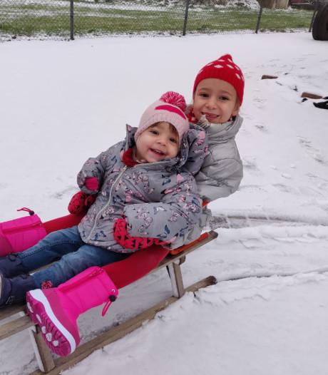 Zo ziet Nederland eruit onder een deken van sneeuw