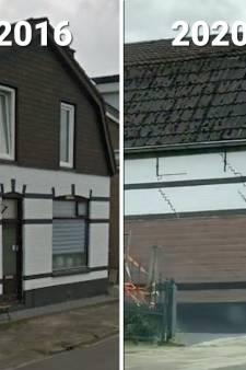 Kijk hier naar de schade aan woningen Kanaal De Haandrik