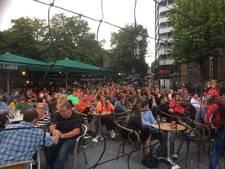 Volle bak in Utrecht bij  EK-wedstrijd in fanzone