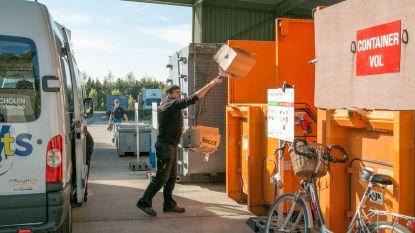 Containerparken dinsdagmiddag met onmiddellijke ingang gesloten