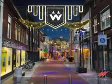 Nieuwe feestverlichting in Woerden