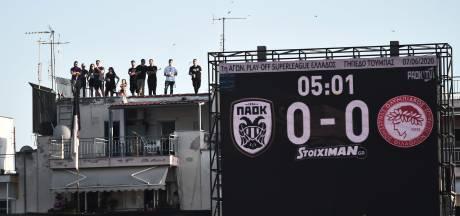 Biseswar met PAOK onderuit in topper met Olympiakos