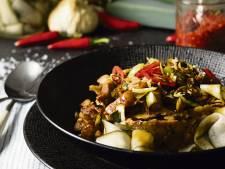 Wat Eten We Vandaag: Indische preistamp met ketjapspeklapjes