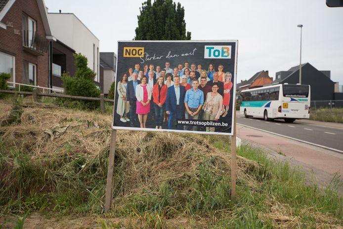 Johan Sauwens, kopman van Trots op Bilzen, en zijn groep zijn duidelijk 'Nog sterker dan ooit'.
