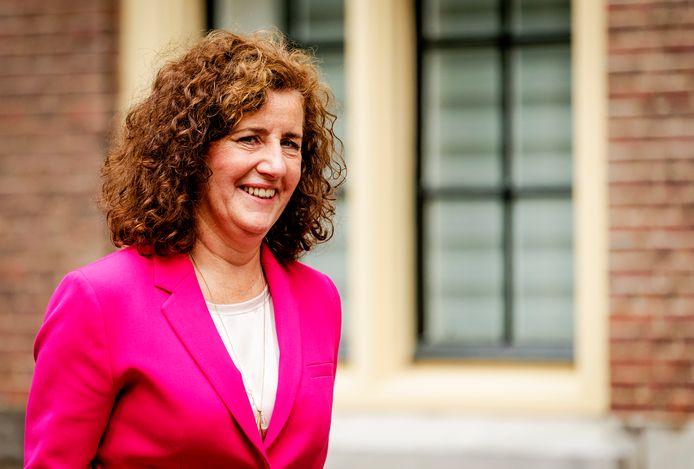 Minister Ingrid van Engelshoven van Onderwijs, Cultuur en Wetenschappen