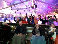 Cliënten Zorgfederatie Oldenzaal genieten van advent belevingstocht